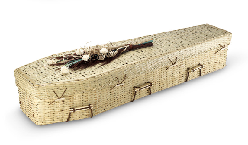Bamboo Traditional Coffin