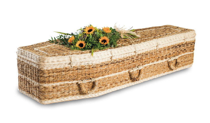 Banana Traditional Coffin
