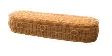 Kubu Rattan Rounded Coffin